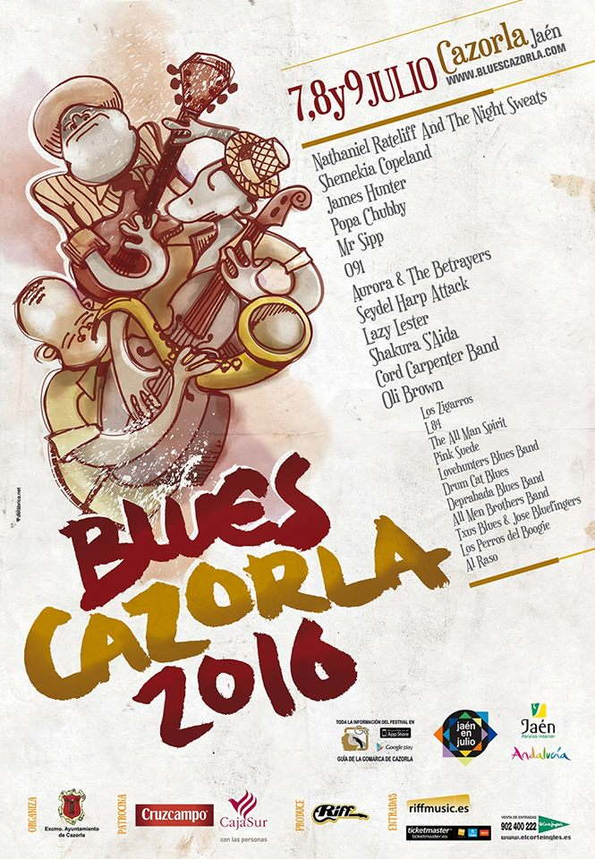 Blues Cazorla - 2016