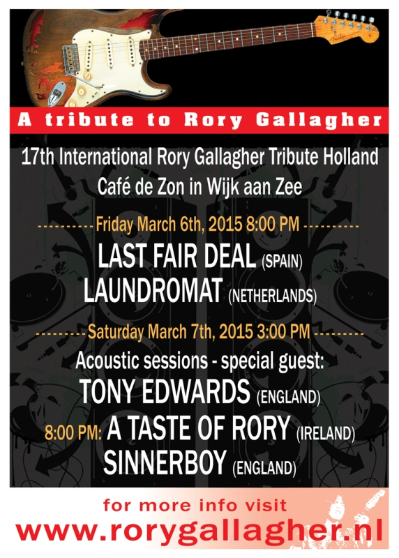 Tribute rory Gallagher