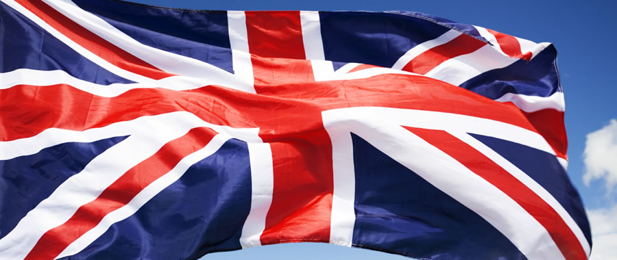 Bandera de Inglaterra - Brexit