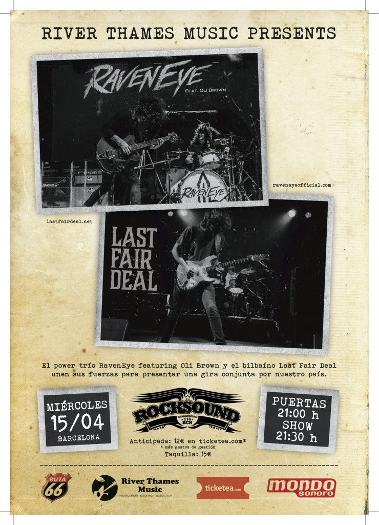 RavenEye - Last Fair Deal Rocksound