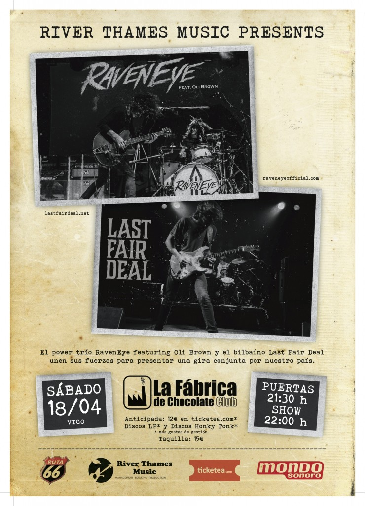 RavenEye - Last Fair Deal Mobi La Fabrica de Chocolate Club